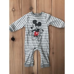 Disney Baby Mickey Mouse Footless Sleeper 3-6 M